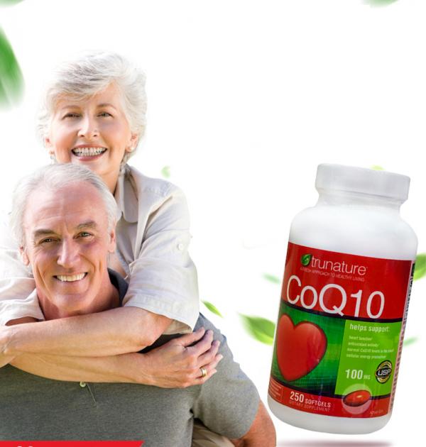 Viên uống Trunature Coq10 bảo vệ sức khỏe trái tim