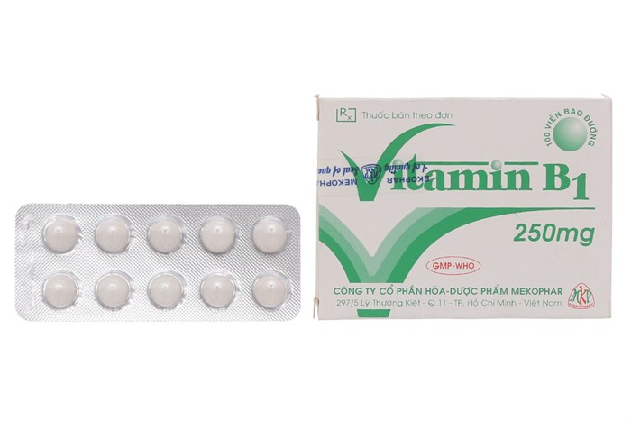 Vitamin B1 250mg Mekophar hỗ trợ chăm sóc sức khỏe toàn diện