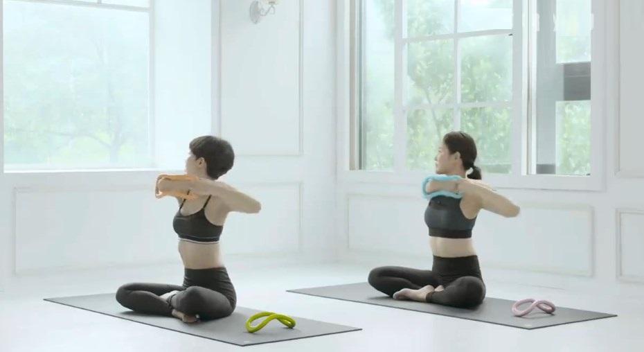 Bài tập với vòng yoga Myring Y2