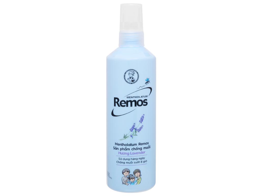 Xịt muỗi hương hoa oải hương Remos Lavender