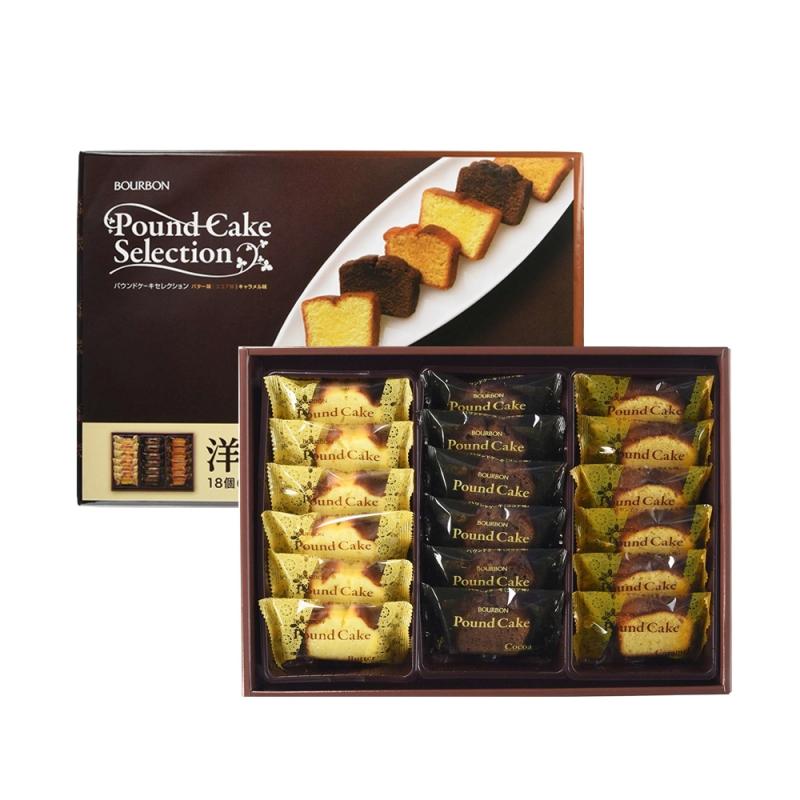 Bánh bông lan Bourbon Pound Cake Selection