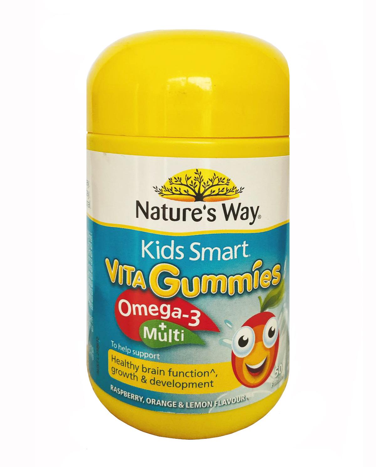 Kẹo dẻo bổ sung Vitamin & Omega 3 cho bé chính hãng từ Úc (mẫu cũ)