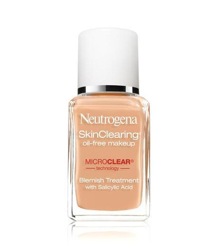 Kem nền Neutrogena Skin Clearing Oil-free Makeup dành cho da mụn, nhạy cảm
