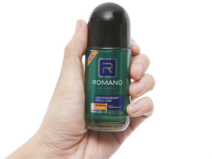Lăn khử mùi Romano classic cho nam hương thơm quyến rũ