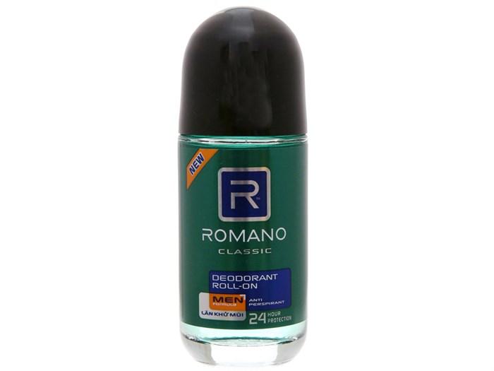 Lăn khử mùi Romano classic cho nam