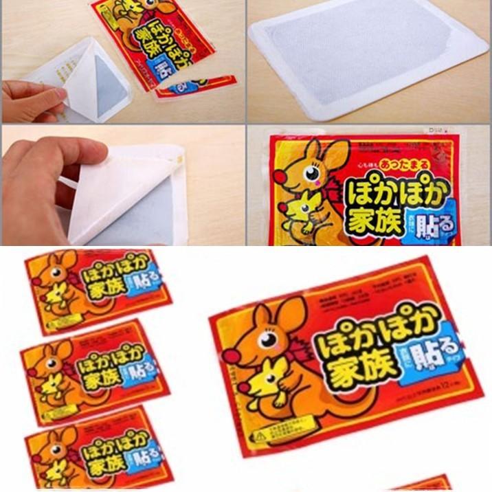 Miếng dán giữ nhiêt chuột túi Nhật Bản chắc chắn, sử dụng cho cả gia đình