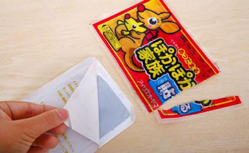 Miếng dán giữ nhiêt chuột túi Nhật Bản tiêu chuẩn, bảo vệ người dùng