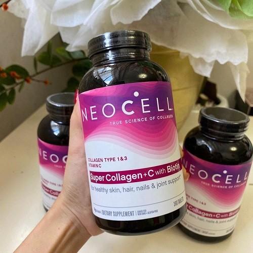Collagen Neocell + C Dạng Nước Uống Pomegranate 4000mg