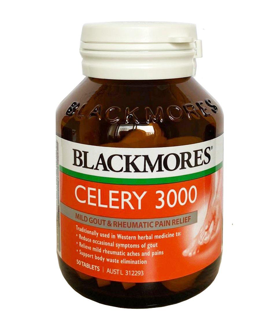 Viên uống Blackmores Celery 3000mg mẫu cũ