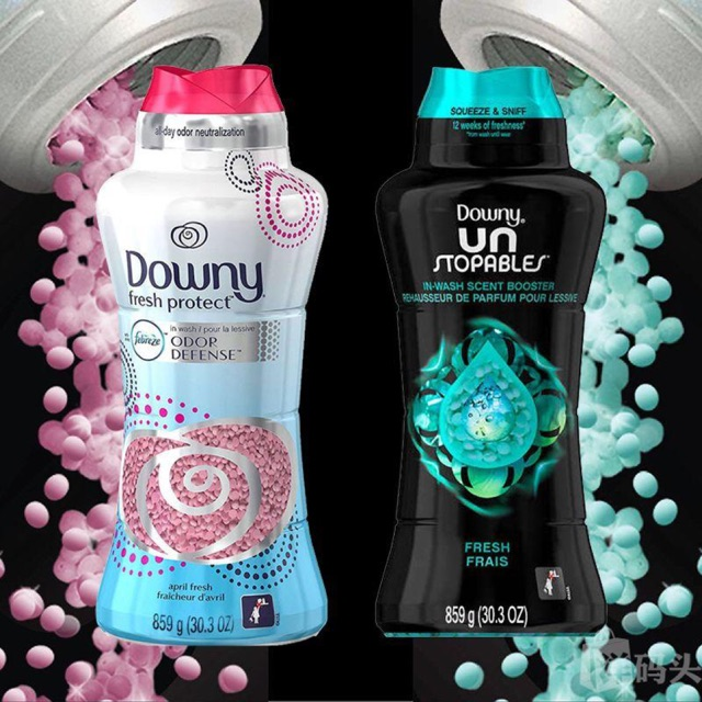 Viên xả vải Downy Fresh Protect Mỹ 2 hương thơm quyến rũ