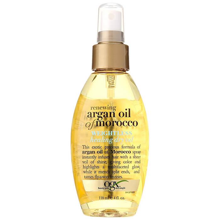 Xịt dưỡng tóc OGX Argan Oil Morocco Healing Dry Oil 118ml
