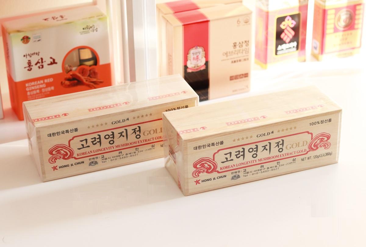 Công dụng của Cao linh chi hộp gỗ trắng Hàn Quốc