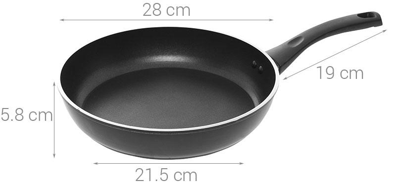 Chảo chống dính Supor H18201-J28 28cm dùng bếp từ