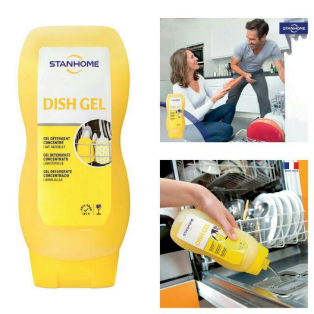 Gel rửa bát 6 trong 1 dish gel Stanhome - 1 bước bảo vệ chén bát gia đình