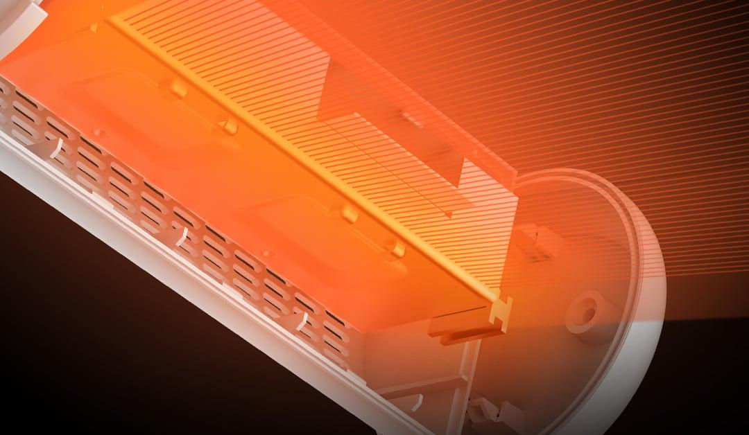 Máy hút ẩm mini Deerma DEM-CS50M khả năng hoạt động mạnh mẽ