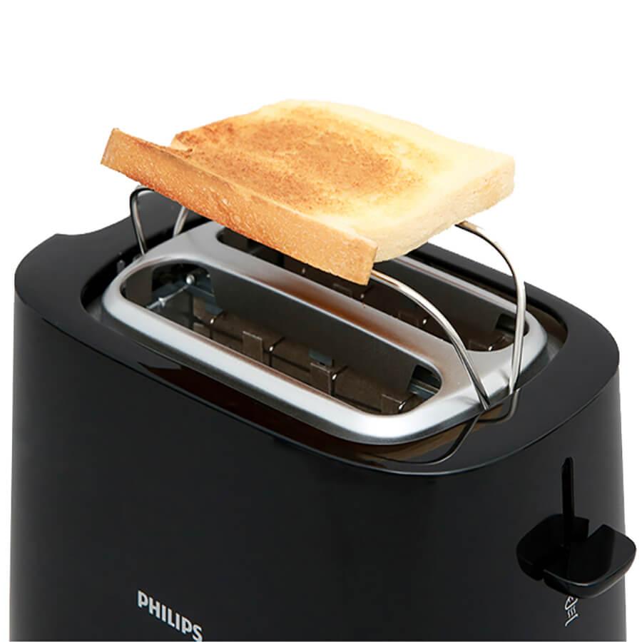 Máy nướng bánh mì Philips HD2582 hỗ trợ vỉ hâm nóng