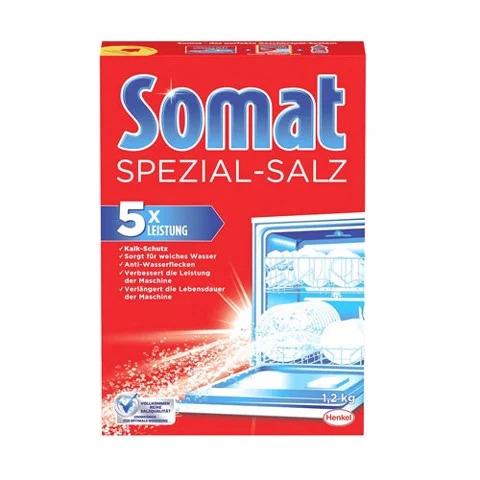 Muối rửa chén bát Somat 1.2kg