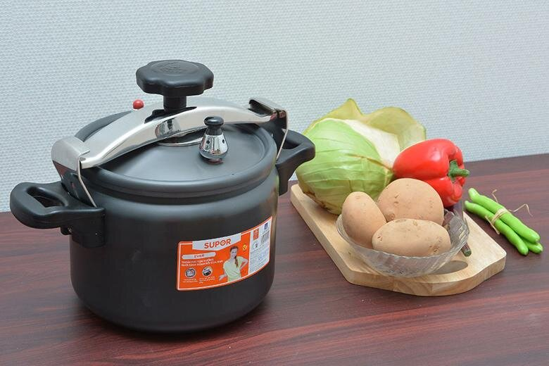 Nồi áp suất cơ Ever Supor YGH22 dung tích 6l chế biến các món hầm, ninh nấu