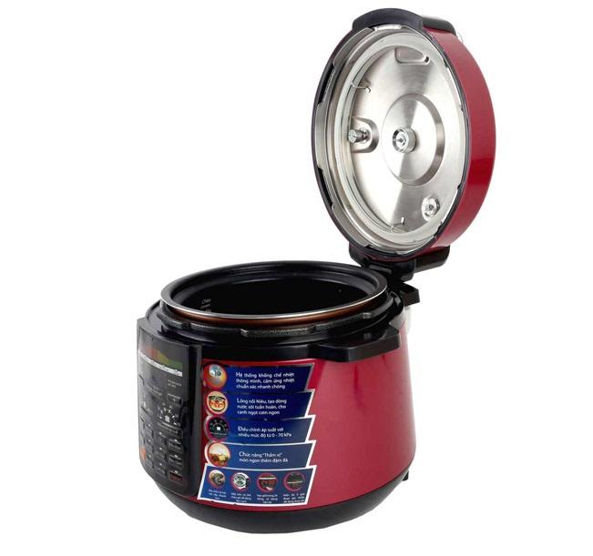 Nồi áp suất điện tử Supor CYSB520QVN-100 thiết kế chắc chắn, lông nồi dạng niêu