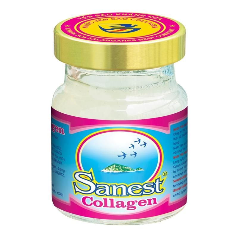 Công dụng của nước yến sào Collagen Sanest bổ dưỡng đẹp da