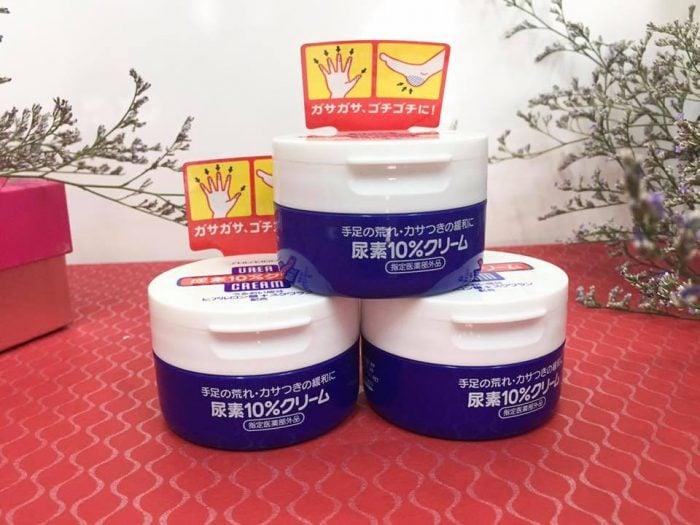 Kem trị nứt nẻ chân tay Shiseido Urea Cream Nhật Bản