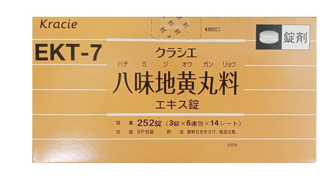 Viên uống EKT-7 Kracie Hachimi chính hãng Nhật Bản
