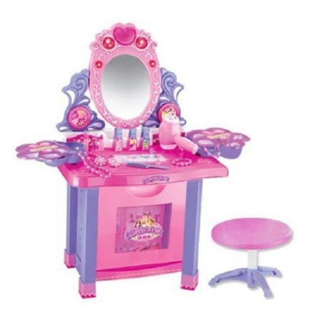 Bộ đồ chơi bàn trang điểm có tủ kệ BBT Global 008-60