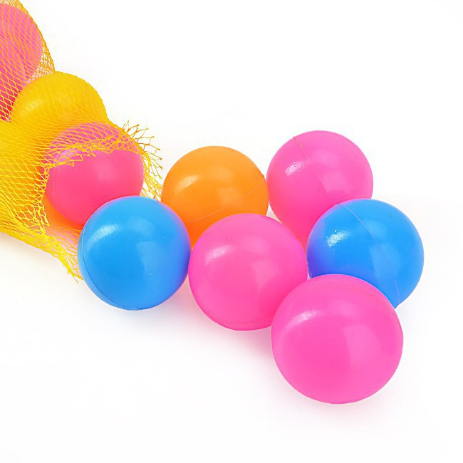50 quả bóng nhựa đồ chơi Việt Nam đường kính 7,5cm BBT Global