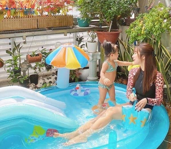 Bể bơi phao Intex cho cao cấp cho bé và gia đình trải nghiệm