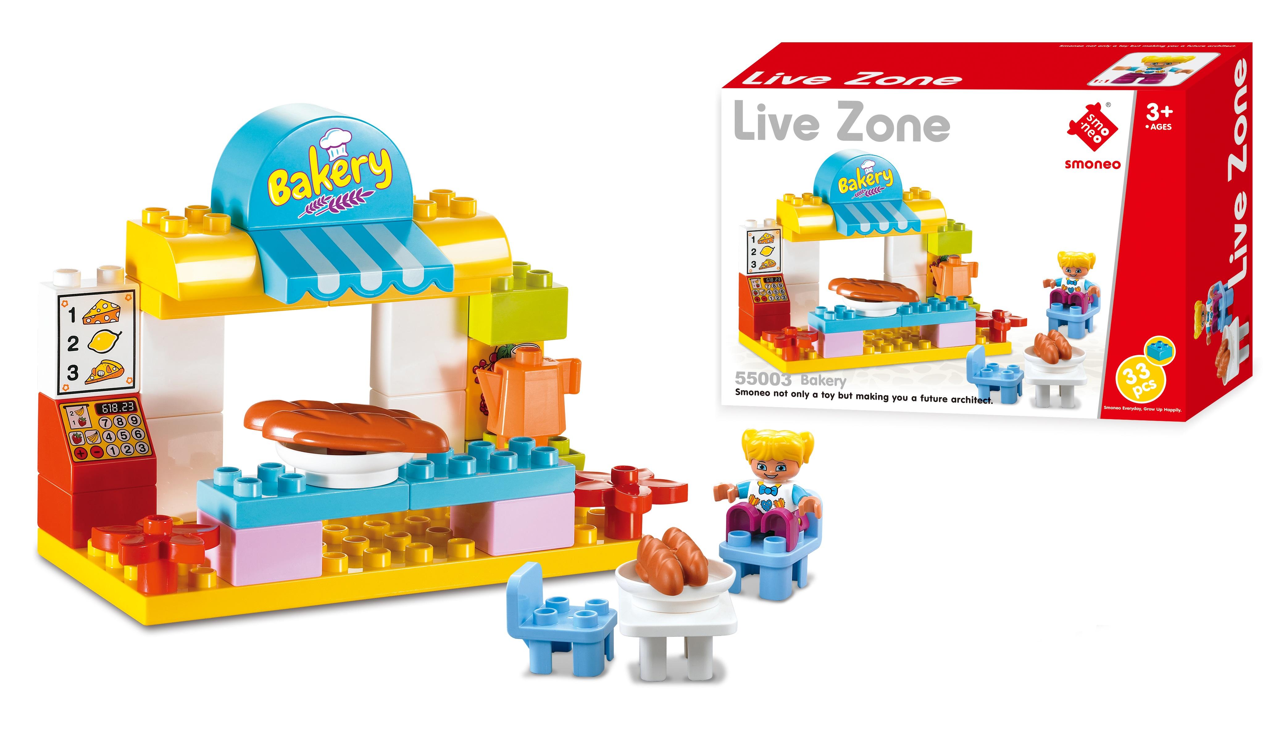 Bộ đồ chơi lắp ghép cửa hàng bánh ngọt Smoneo Duplo Lego 55003
