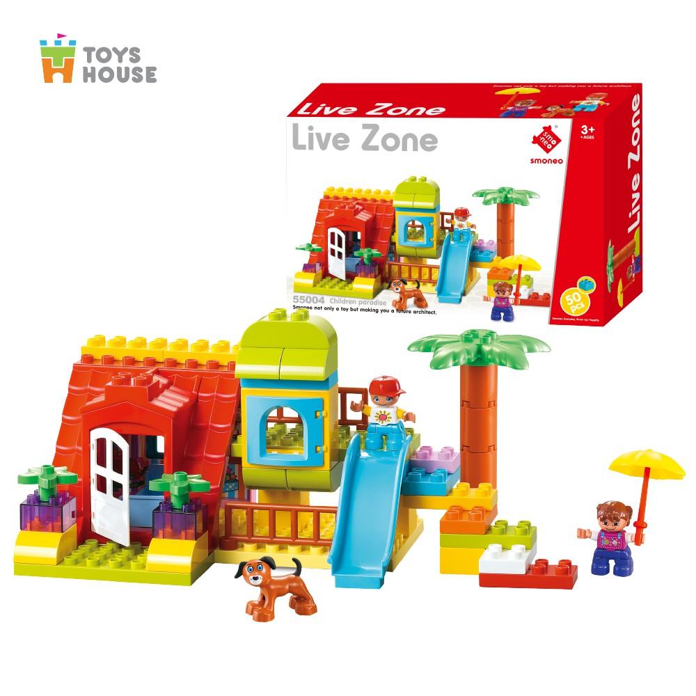 Bộ đồ chơi lắp ghép Smoneo xứ sở thần tiên Toys House 5504