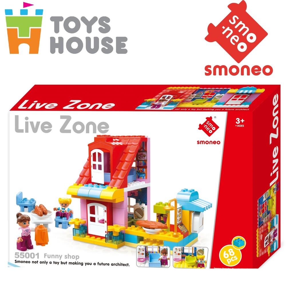 Bộ đồ chơi lắp ghép Cửa hàng vui nhộn 68 chi tiết Toys House