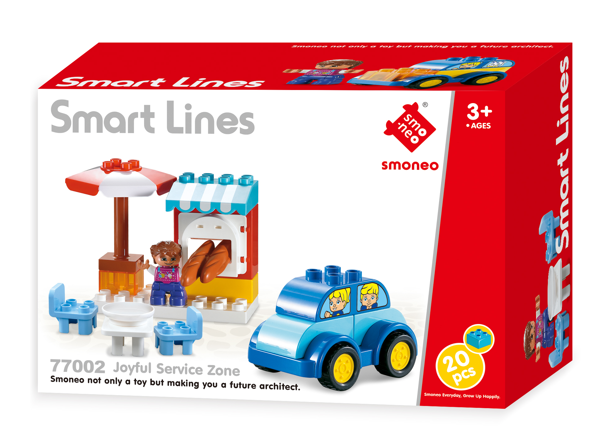 Bộ đồ chơi xếp hình Quầy Bán Hàng Toys House 77002C
