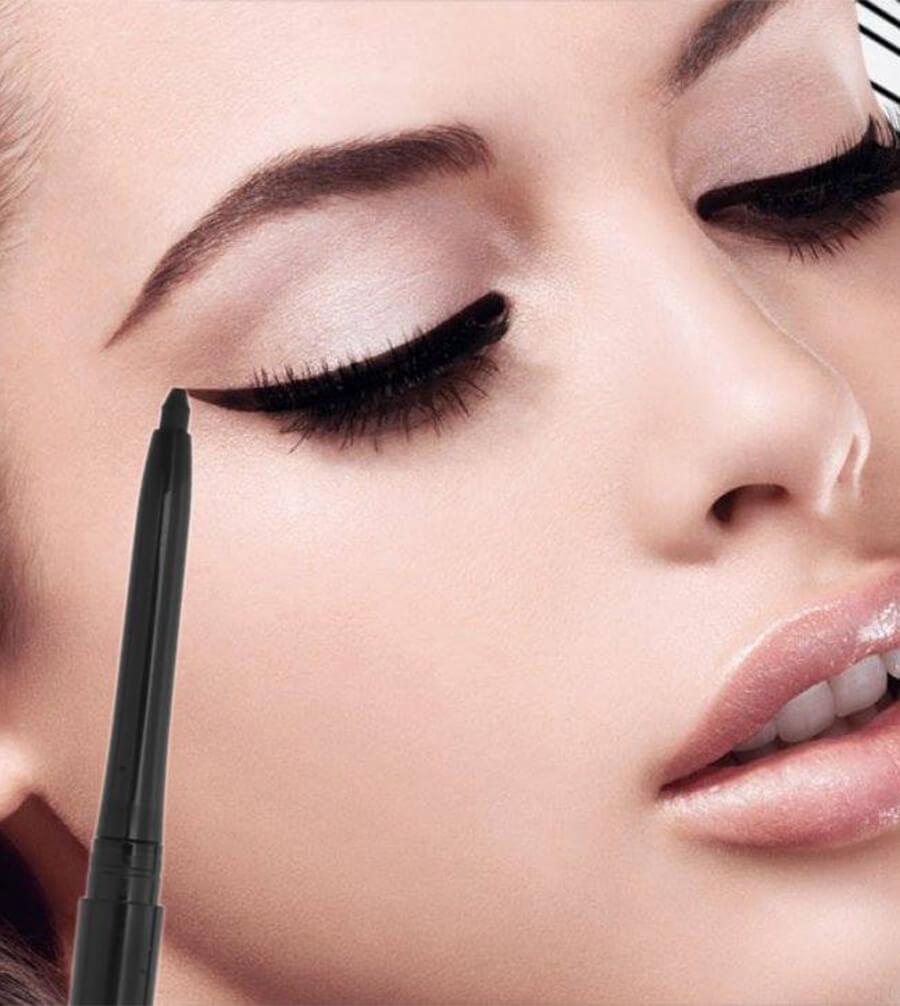 Chì kẻ mắt Vacosi Styling Auto Gel Liner dạng gel hỗ trợ đường viền mắt tự nhiên