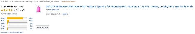 Đánh giá mút trang điểm Beauty Blender