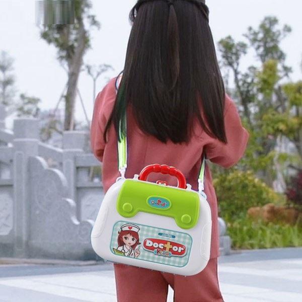 Bộ đồ chơi bác sĩ chuyên nghiệp cho bé mang theo