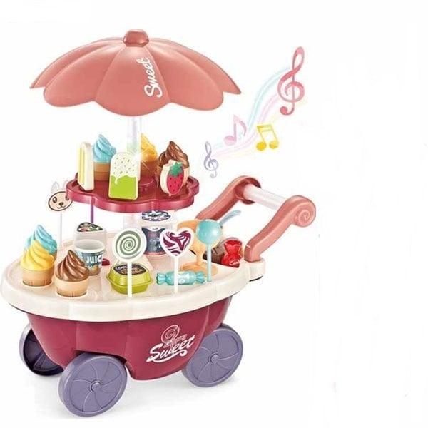 Đồ chơi xe đẩy bán kem BBT Global