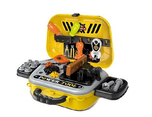 Bộ đồ chơi túi dụng cụ sửa chữa BBT Global 008-932A cho bé trải nghiệm thú vị