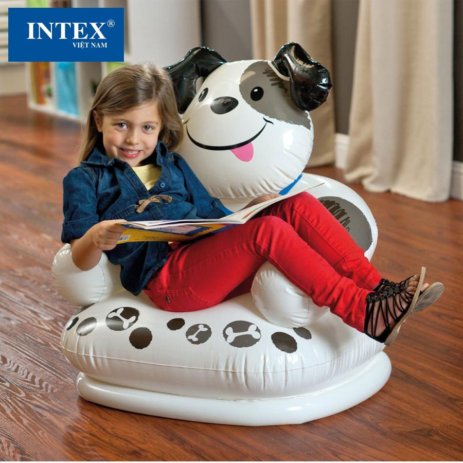 Ghế hơi cho bé Intex 68556 hỗ trợ bé vui chơi thoải mái