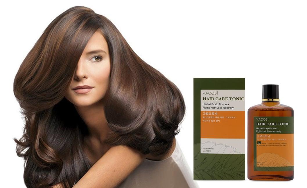 Serum Vacosi Hair Care Tonic hỗ trợ bảo vệ tóc khỏi hư tổn