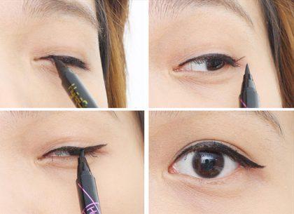 Kẻ mắt nước Maybelline Hypersharp Power Black đường line mắt tự nhiên, thanh mảnh