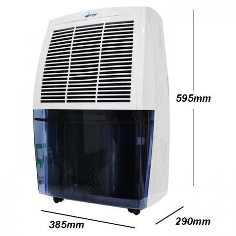 Máy hút ẩm dân dụng FujiE HM-620EB tiện lợi, sử dụng cho không gian gia đình, văn phòng