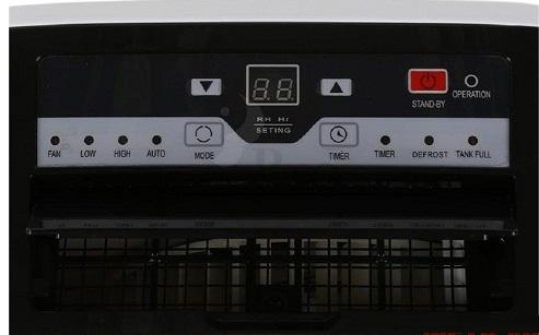 Bảng điều khiển máy hút ẩm đa chức năng