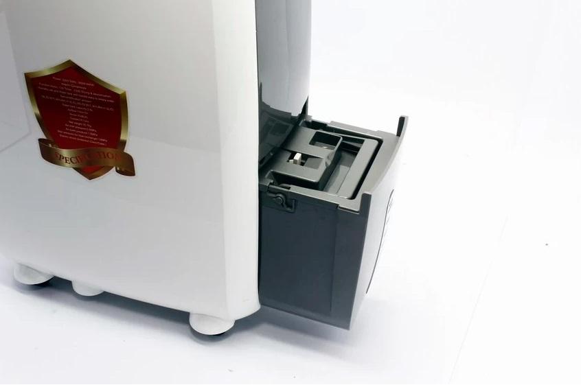 Máy hút ẩm gia đình Tiross TS886 thiết kế khay chứa nước tiện lợi