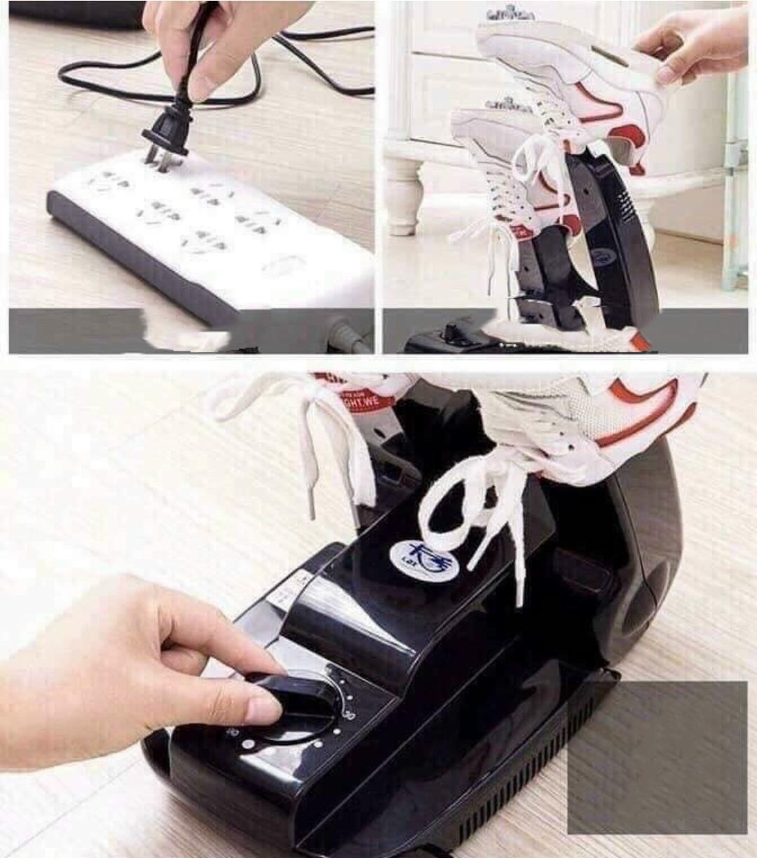 Máy sấy giày khử mùi Kax sử dụng tiện lợi, thông minh