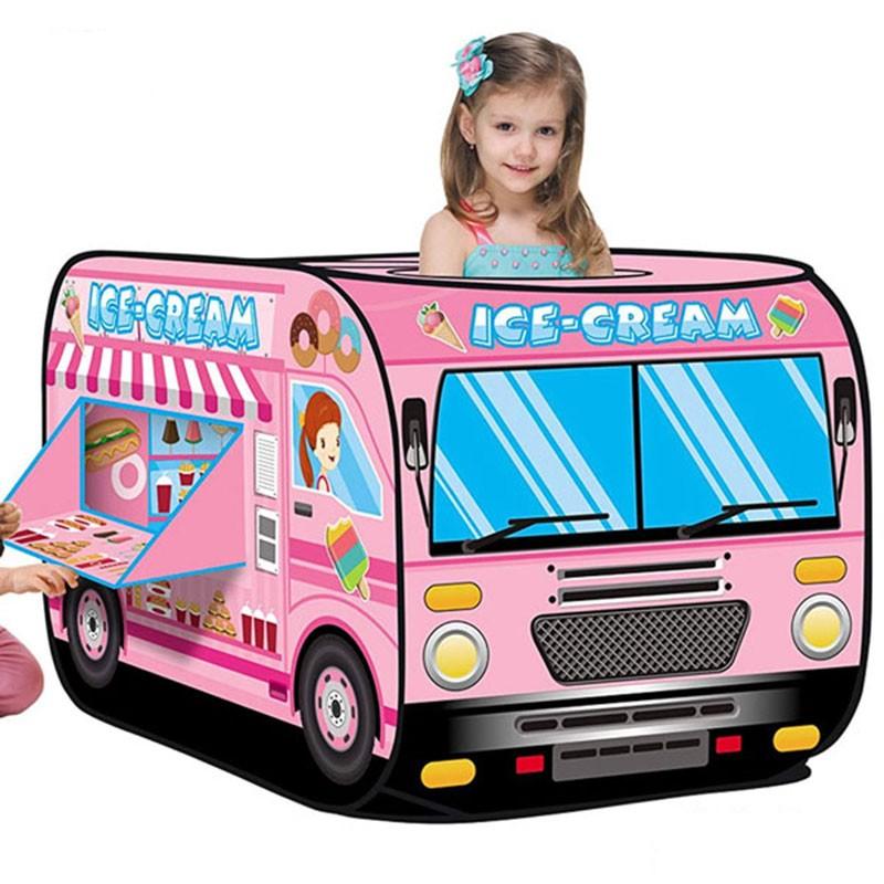 Lều bóng ô tô nhà kem cho bé 995-7066B