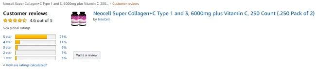 review top 5 collagen của mỹ tốt nhất 2021