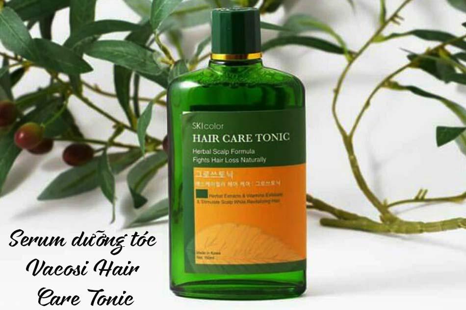 Serum Vacosi Hair Care Tonic dưỡng tóc mềm mại, hạn chế gãy rụng
