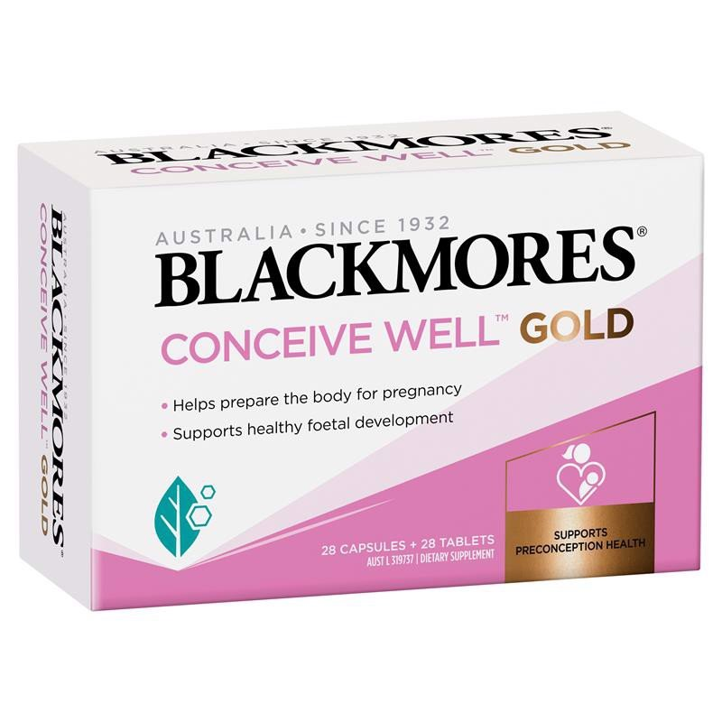 Blackmores conceive Well Gold mẫu mới