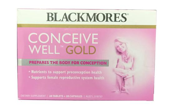 Blackmores conceive Well Gold mẫu cũ